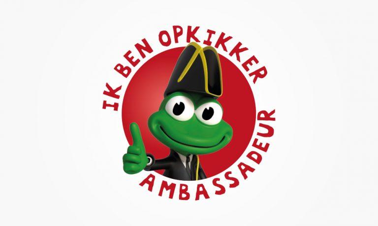 Logo Stichting Opkikker ambassadeur